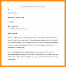 11 thank you interview letters abstract sample