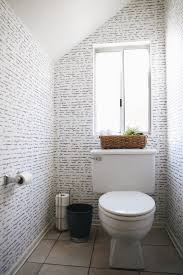 Wallpaper Bathroom Designs Go Bold In Small Spaces With Removable Wallpaper