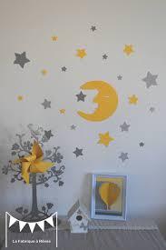 stickers pour chambre bébé garçon ã tourdissant stickers chambre bebe fille et dispo lune bébé