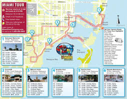 Usa Tourist Attractions Map by Miami Attractions Map Miami Tourist Attractions Map Florida Usa