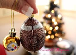 pittsburgh steelers ornaments on our steelers tree at