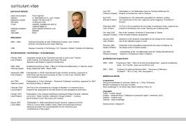 english resume 4 1 cv structure how to write the curriculum vitae