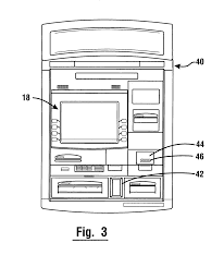 patent us7284692 atm with rfid card note and check reading