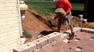 Recon Retaining Wall by Retaining Wall Block Blend Block And Caps Bluestone Column