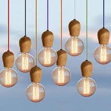 Diy Pendant Lights Diy New Modern Diy Wooden Edison Pendant Light Ceiling Light