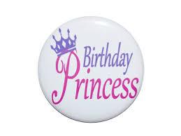 birthday girl pin birthday princess birthday button birthday girl pin