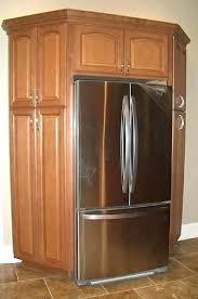 cabinet enclosure for refrigerator refrigerator cabinet surround refrigerator surround cabinet kitchen