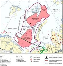 Barents Sea Map Chapter 19 Geology And Petroleum Potential Of The East Barents Sea