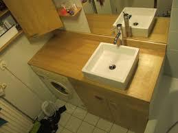 salle de bain avec meuble cuisine element bas de cuisine avec plan de travail cuisine metod habille