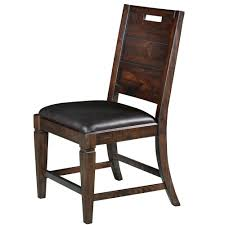 Rustic Dining Chair Pine Hill Wood Dining Chair Each In Rustic Pine Humble Abode