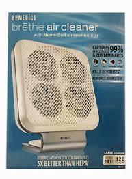 si e de homedics homedics ar nc01 brethe air cleaner with nano coil technology