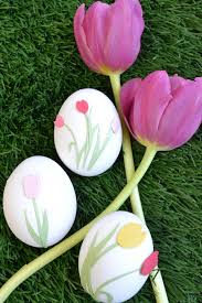 Easter Decorations By Martha Stewart decorating easter eggs no fuss no mess with martha stewart