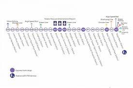 Taipei Mrt Map Airport Mrt To Start Trial Runs On Feb 2 Taiwan News