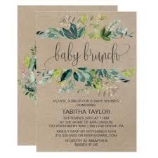 baby brunch invitations green baby brunch baby shower invitations baby shower invitations