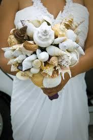 wedding bouquets with seashells seashell bouquet wedding bouquet alternative bouquet