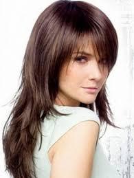 short choppy layers long hair women medium haircut