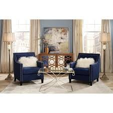 Ivory Accent Chair Blue Accent Chairs Living Room Gen4congress
