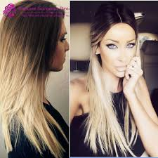 dark roots blonde hair beyonce beautiful brazilian hair ombre color dark roots blonde