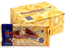 pesek zman chocolate pesek zman 7 finger milk chocolate bars 10ct box elite israeli