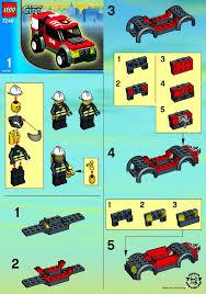 Lego Headquarters Lego Fire Headquarters Instructions 7240 City Police Rescue