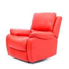 Reclining Sofa Chair by Foxhunter Luxury 1 Seater Leather Cinema Recliner Sofa Chair
