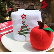 10pcs 8cm apples tree ornaments foam tree hanging