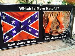 Confederate Flag Checks Pro Life Blacks Protest Outside Naacp Using Confederate Flag And