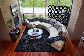 Round Sofa Set Designs How To Find The Perfect Place For Your Curved Sofa Or Sectional