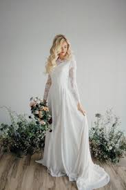 modest wedding dresses 25 modest wedding dresses with sleeves lds daily