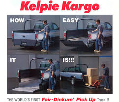 Dodge Dakota Truck Bed - aussie unicorn what exactly was the kelpie kargo the daily