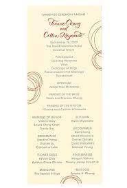 wedding ceremony program ideas ceremony program ideas wedding ideas brides brides
