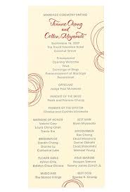 wedding program ideas ceremony program ideas wedding ideas brides brides