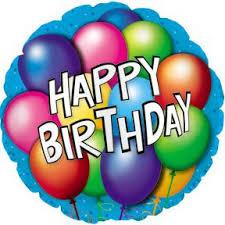 birthday balloons 18 happy birthday balloons foil balloon doolins