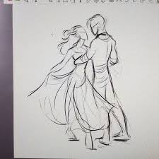 pictures couple sketches pencil drawings art gallery