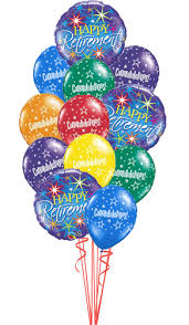 retirement balloon delivery goodbye luck you ll be missed we ll miss you happy retirement