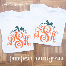 Toddler Halloween Shirt by Halloween Monogram Pigskins U0026 Pigtails