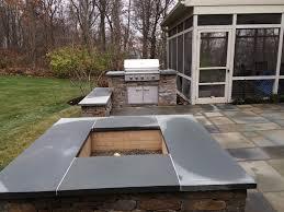 flagstone pavers patio outdoor fire pits u0026 fireplaces lancaster pa c e pontz sons