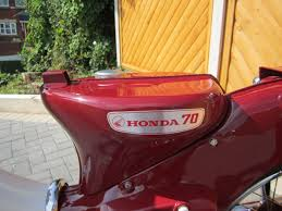 restored honda c70 1973 photographs at classic bikes restored