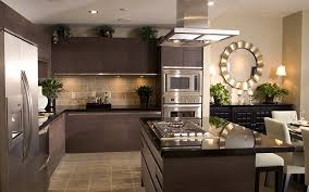 kitchen ideas with brown cabinets retro kitchen ideas with dark brown plywood kitchen cabinet las