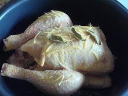 la bonne cuisine de a à z poulet à la sauge et au zeste de citron dans l ultra chez