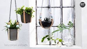 diy by panduro hanging pot holders with leather youtube