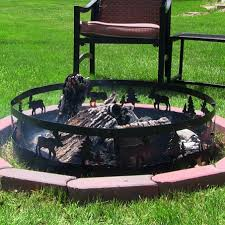 36 Fire Pit by 36 Wild Moose Backyard Campfire Ring Firepit Picnic Camping