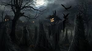 crows pumpkin art halloween wallpaper 4975 wallpaper themes