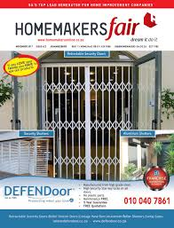Jans Awning Products Homemakersfair Johannesburg November 2017 By Homemakers Issuu