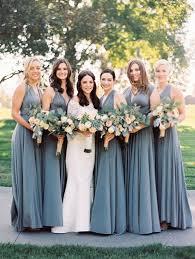 best bridesmaid dresses slate blue bridesmaid dresses blomwedding