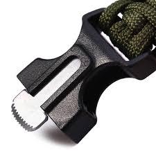 buckle survival bracelet images 5 in 1 paracord bracelet fire starter whistle compass jpg