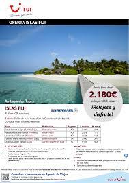 islas fiji 5 noches salidas del 20jul al 20 dic precio final
