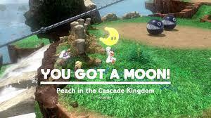 super mario odyssey guide cascade kingdom all power moon