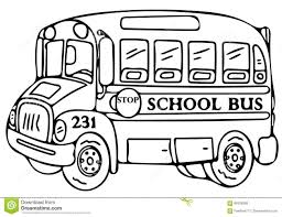 bus coloring pages coloring page
