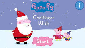 christmas wish book peppa pig book christmas wish android apps on play